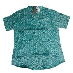 Reyn Spooner Mens Hawaiian Shirt Sz Large Lahaina